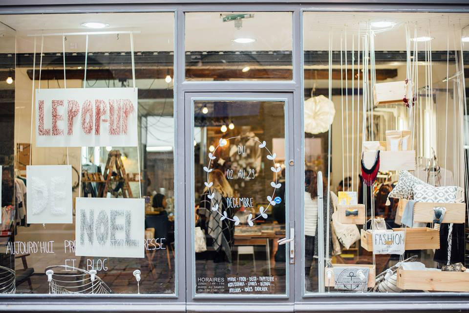 Pop up Noel Rennes