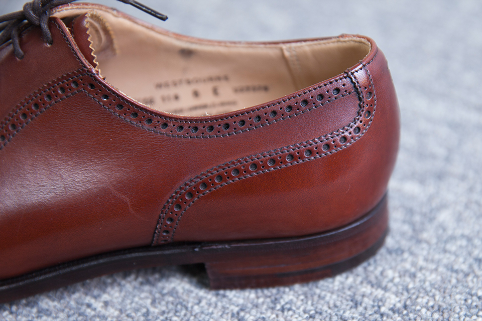 Richelieu Crockett & Jones contrefort