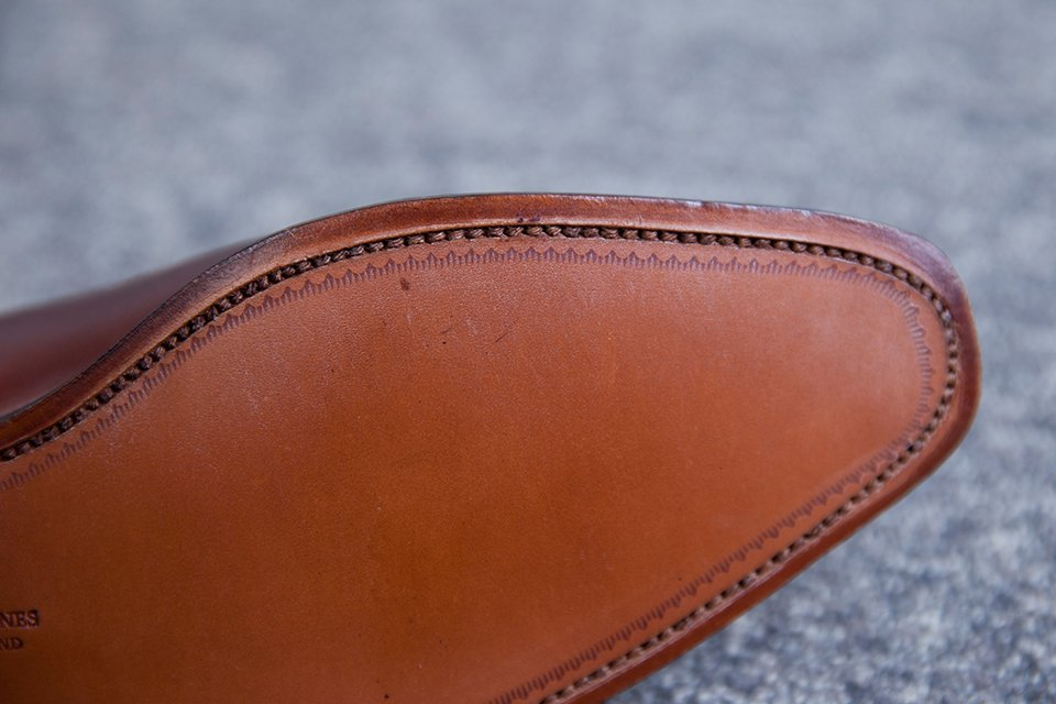 Richelieu Crockett & Jones coutures