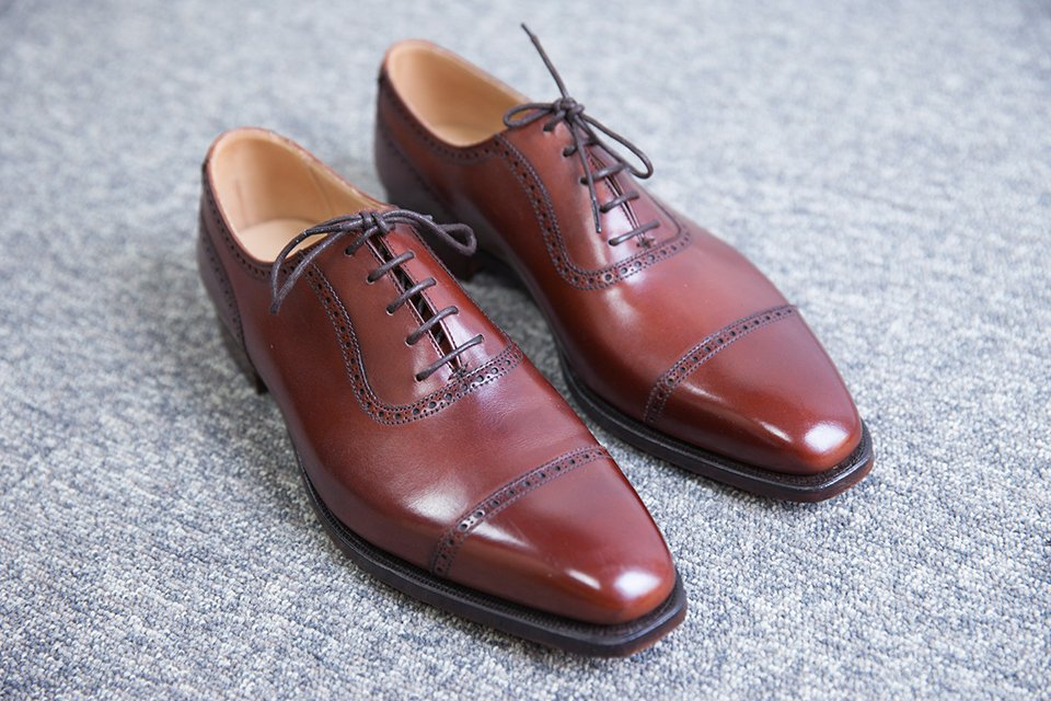 Richelieu Crockett & Jones noisette