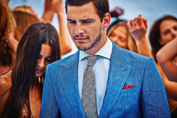 Suit Supply Carli Hermes 2014