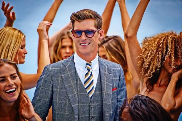 Suit Supply Carli Hermes Suit