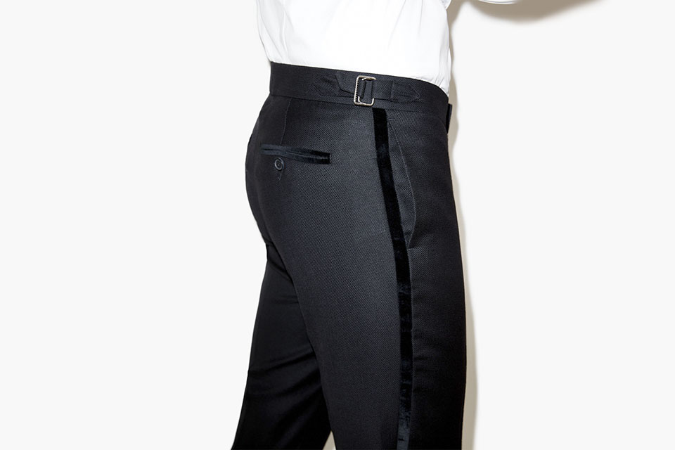 the kooples ah15 smoking pantalon