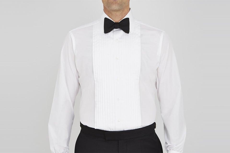 turnbull asser chemise plastron