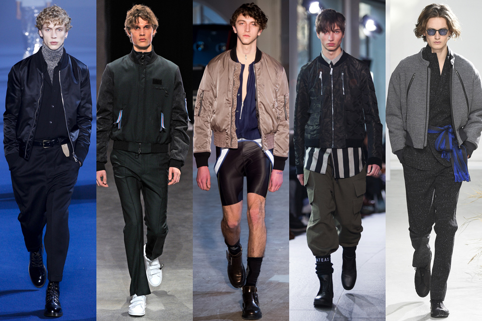 bomber fashion week homme paris
