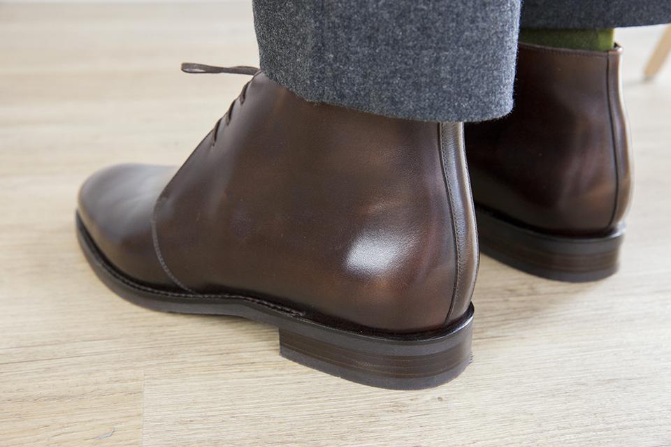 Chukka Boots Septieme Largeur arriere