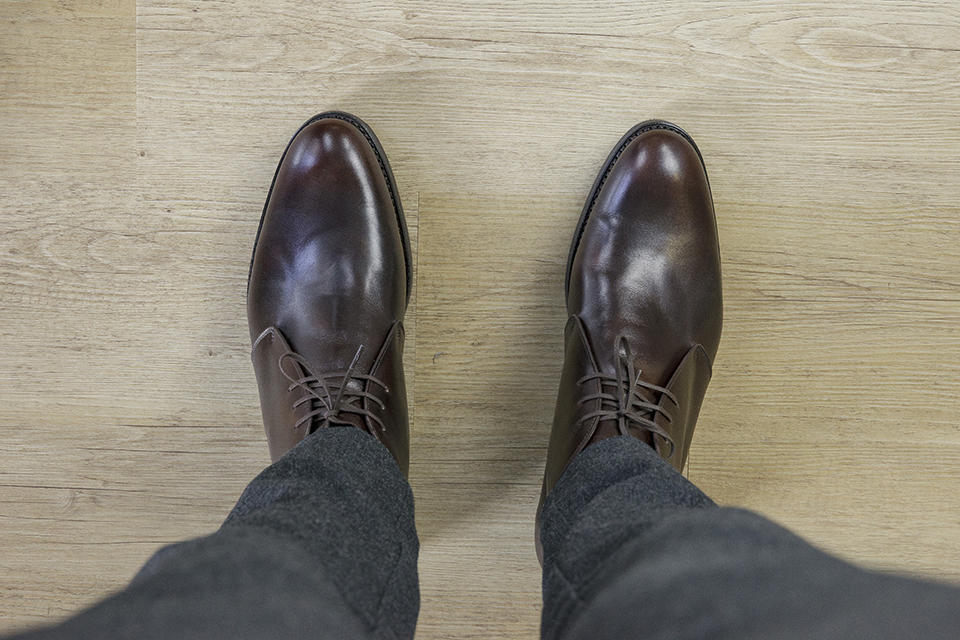 Chukka Boots Septieme Largeur Look