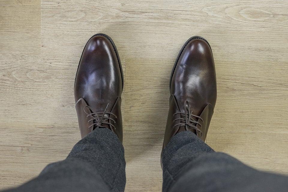 Chukka Boots Septieme Largeur Look