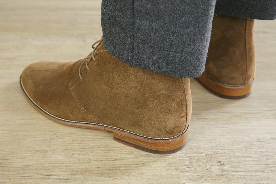 Chukka Boots Bobbies Arriere