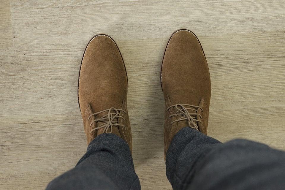 Chukka Boots Bobbies Look