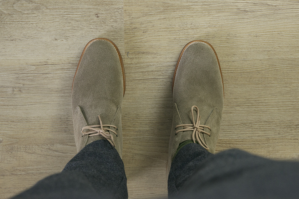 Chukka Boots Church Look