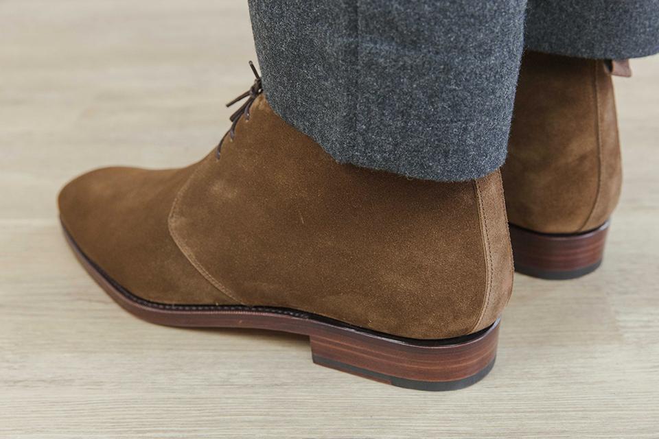 Chukka boots Carmina arriere