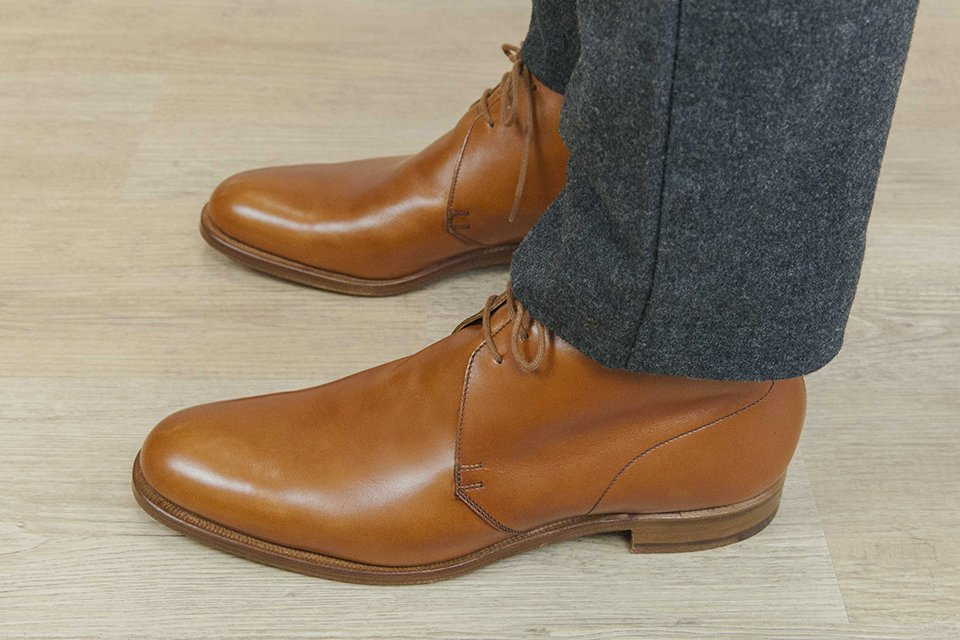Chukka boots cuir Crockett Jones