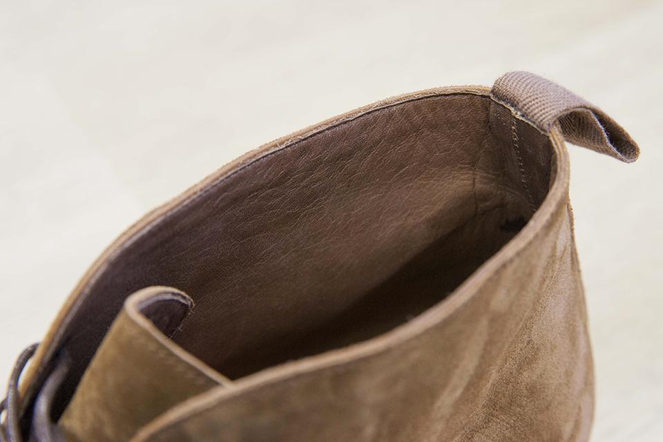 Chukka boots en cuir