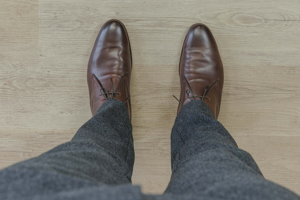 Chukka boots Lucknow Dessus