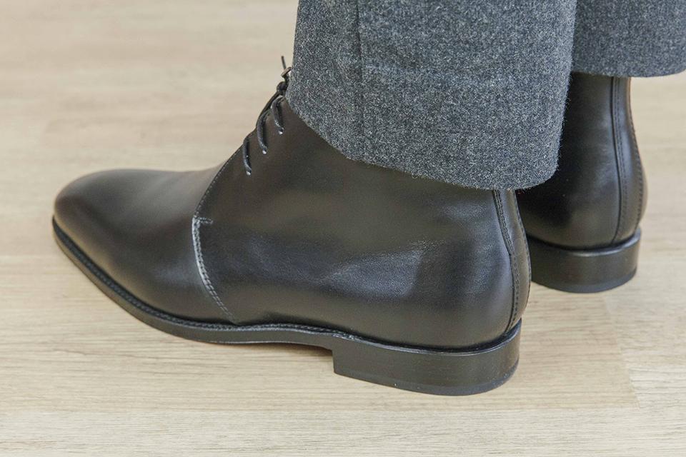 Chukka boots Orbans arriere