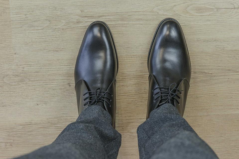 Chukka boots Orbans dessus