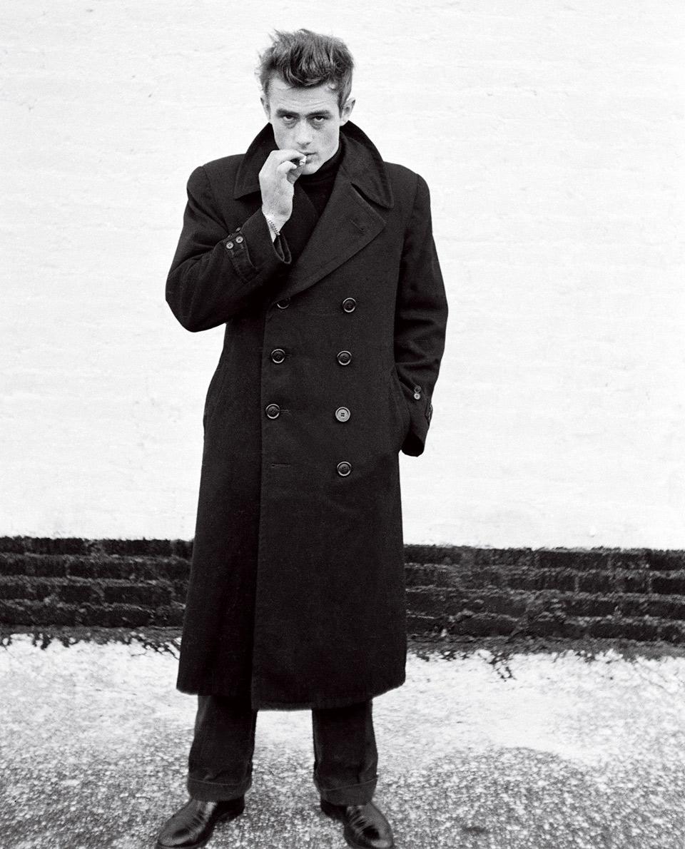 james dean manteau long