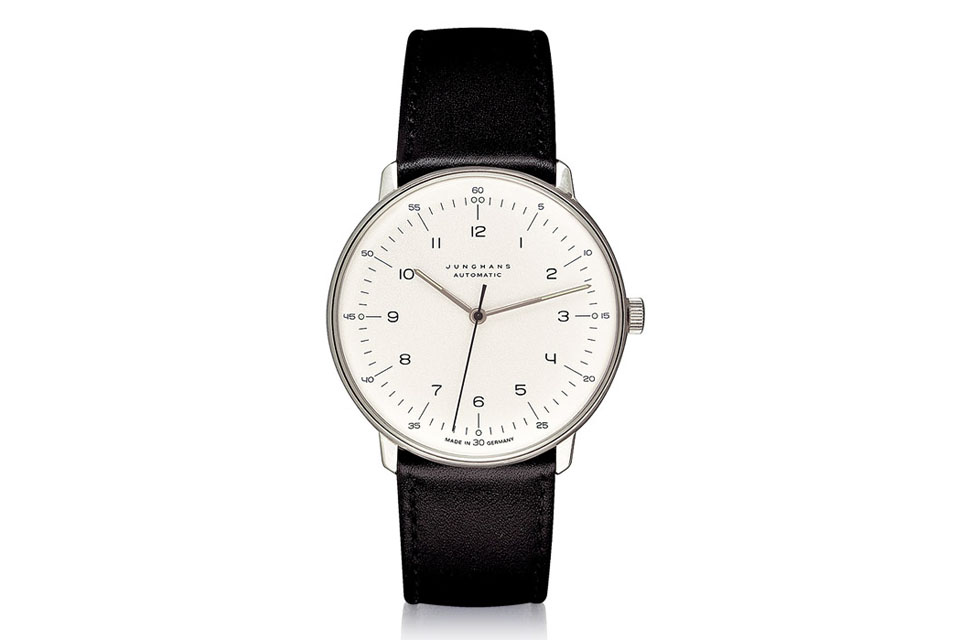 junhans max bill montre automatique
