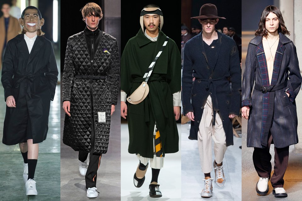 peignoir fashion week paris homme