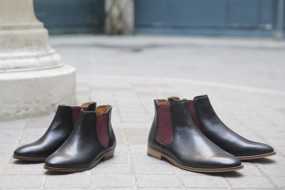 pied de biche marque chaussures francaise