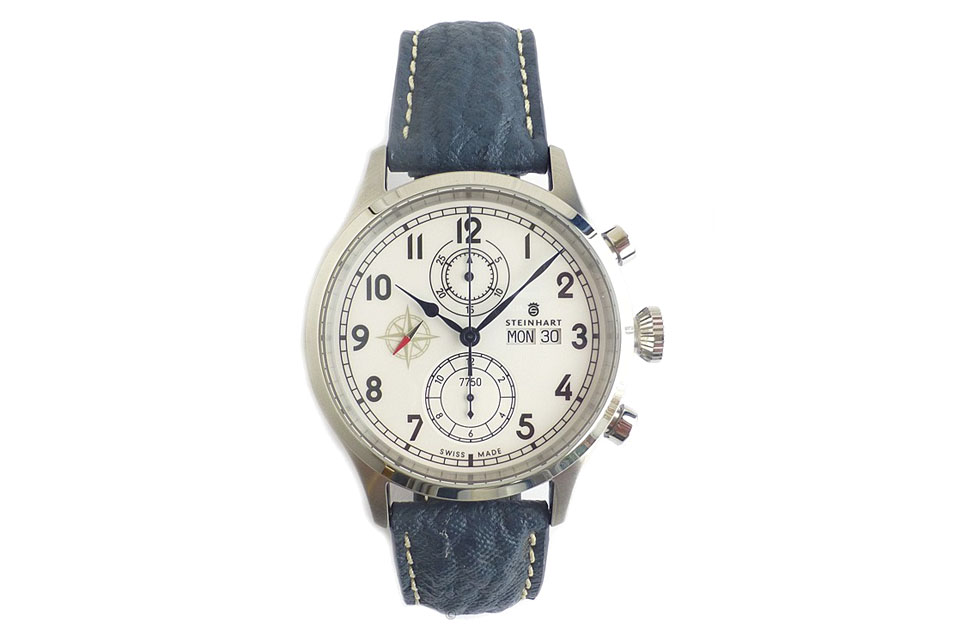 steinhart marine chronograph automatique montre