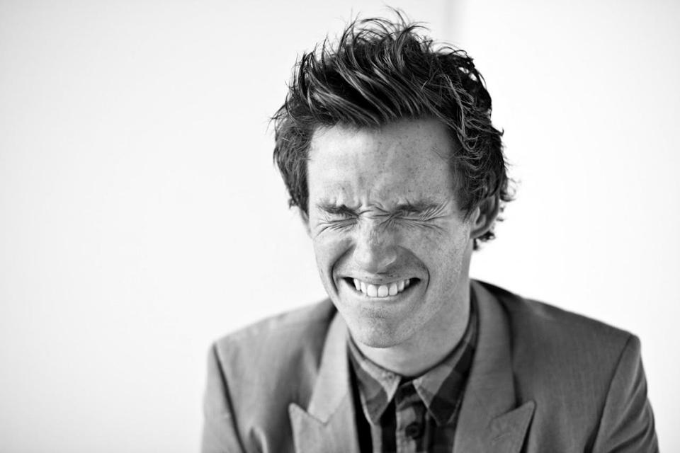 Eddie Redmayne Portrait