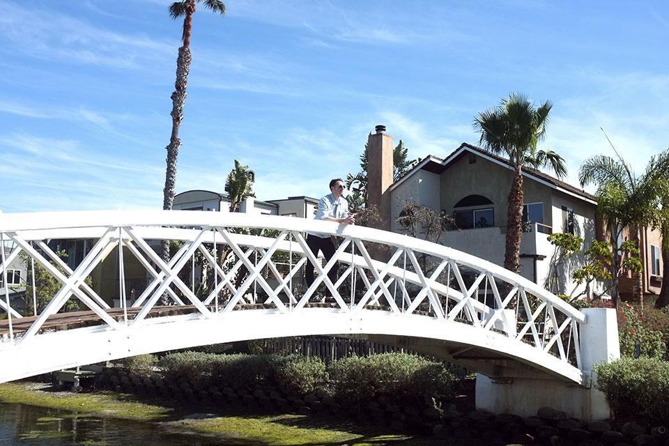 Venice Los Angeles Canaux Pont