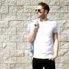 Venice Los Angeles Tshirt blanc Club Monaco