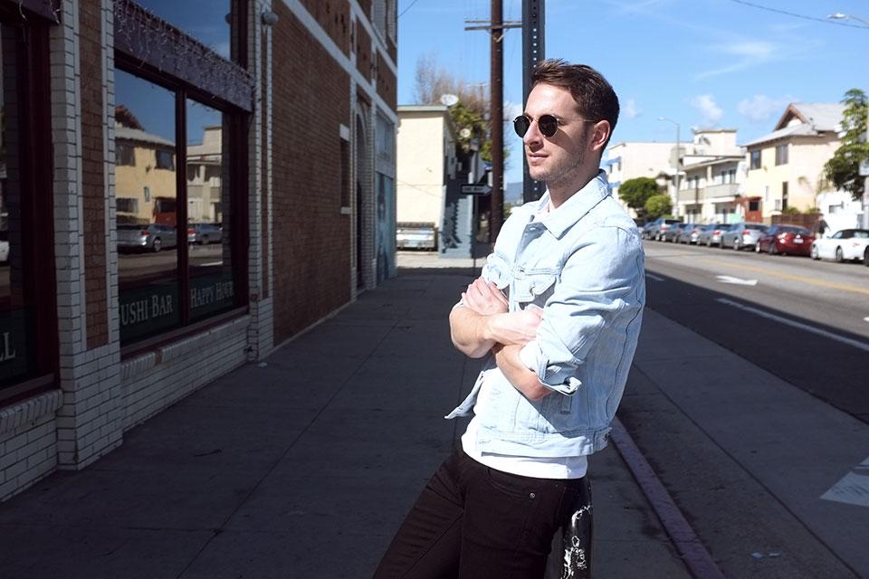 Venice Los Angeles Veste Jeans