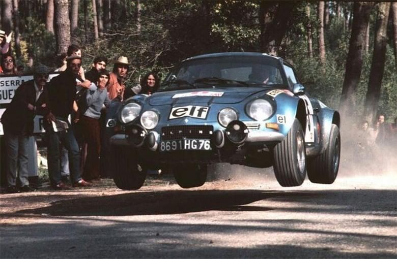 Alpine Rallye Saut