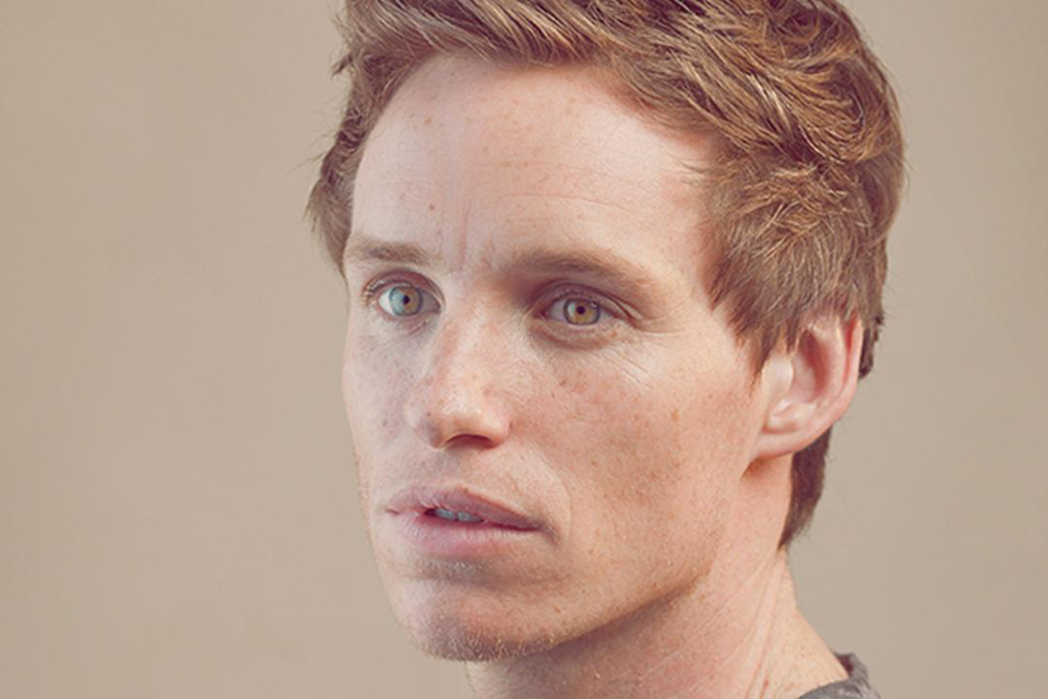 eddie redmayne red hair