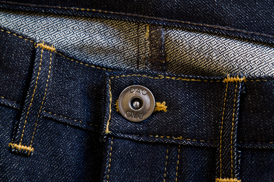 jeans dao bouton