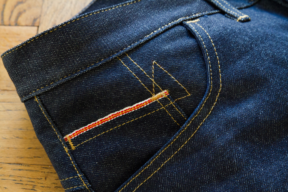 jeans dao finition selvedge