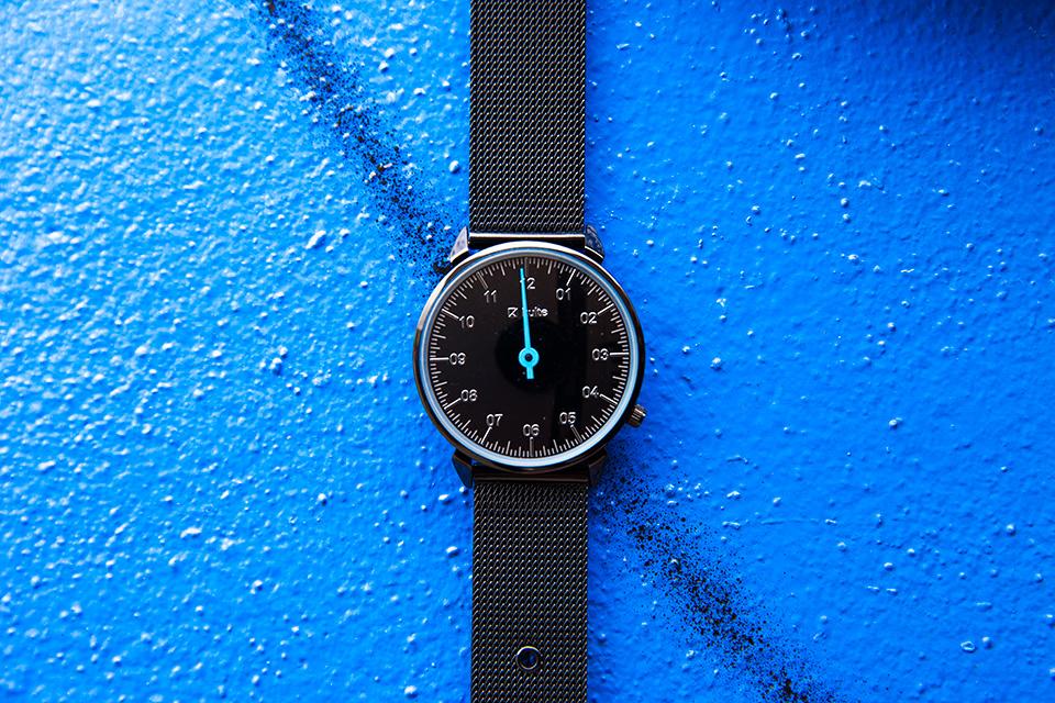 Montre Kulte Noir Bleu