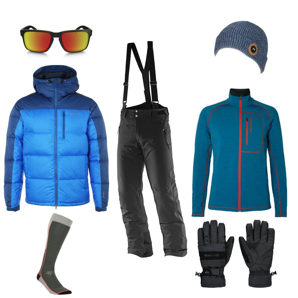 selection homme ski