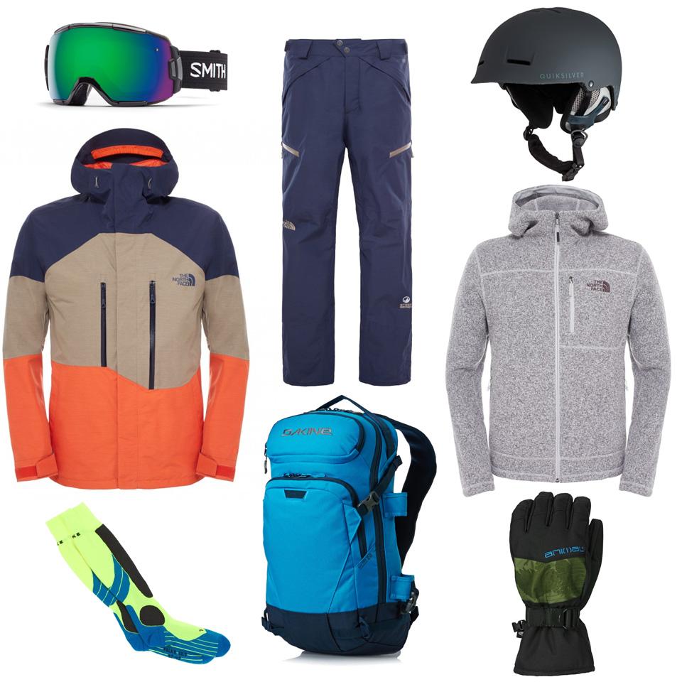 tenue snowboard freeride homme