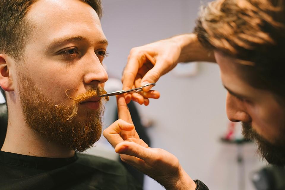 Barbier Ciseaux Moustache