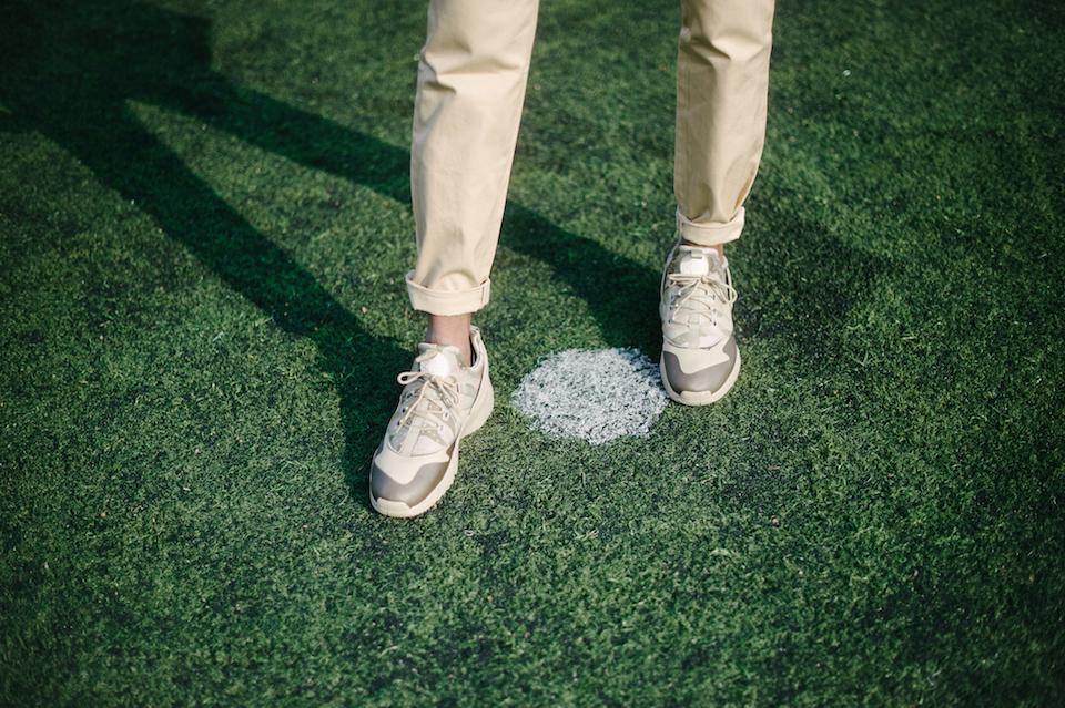 basket sneakers nike huarache camouflage