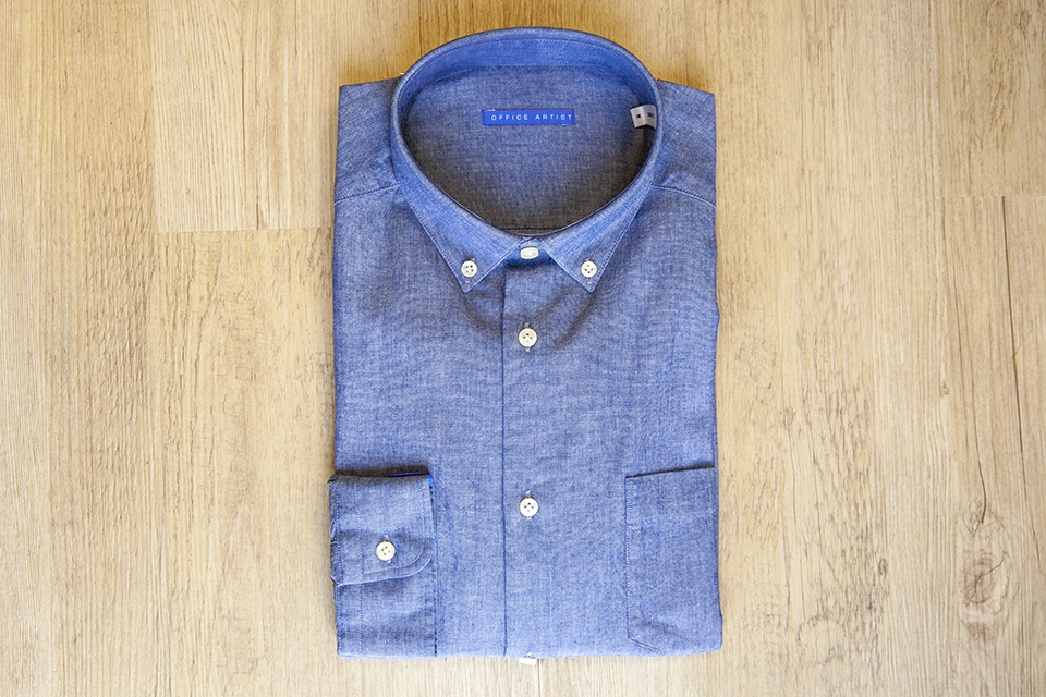 Chemise chambray Office Artist