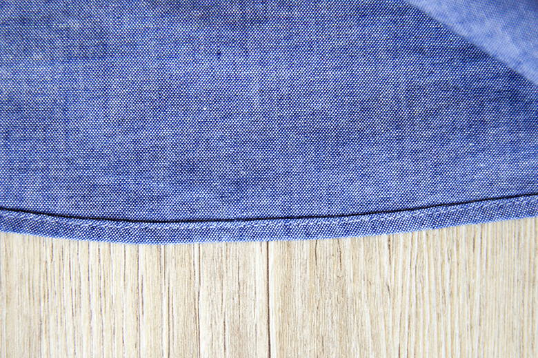 Chemise chambray Office Artist coutures