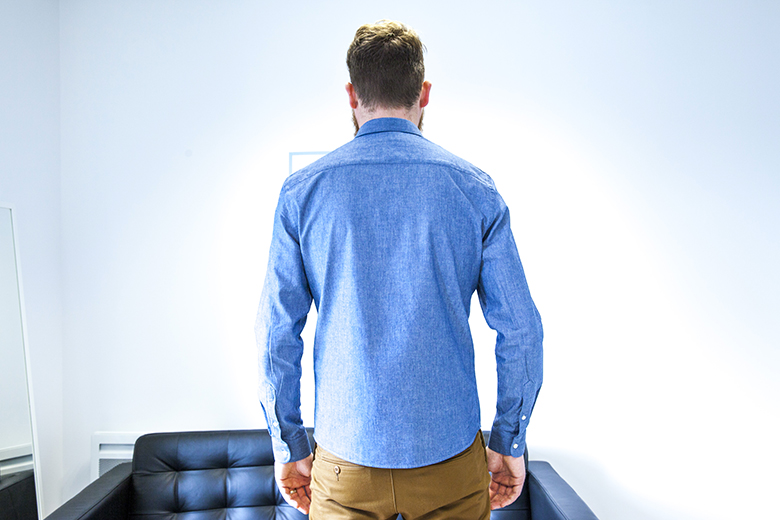 Chemise chambray Office Artist dos