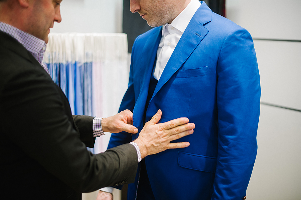 Costume The French Tailor essayages