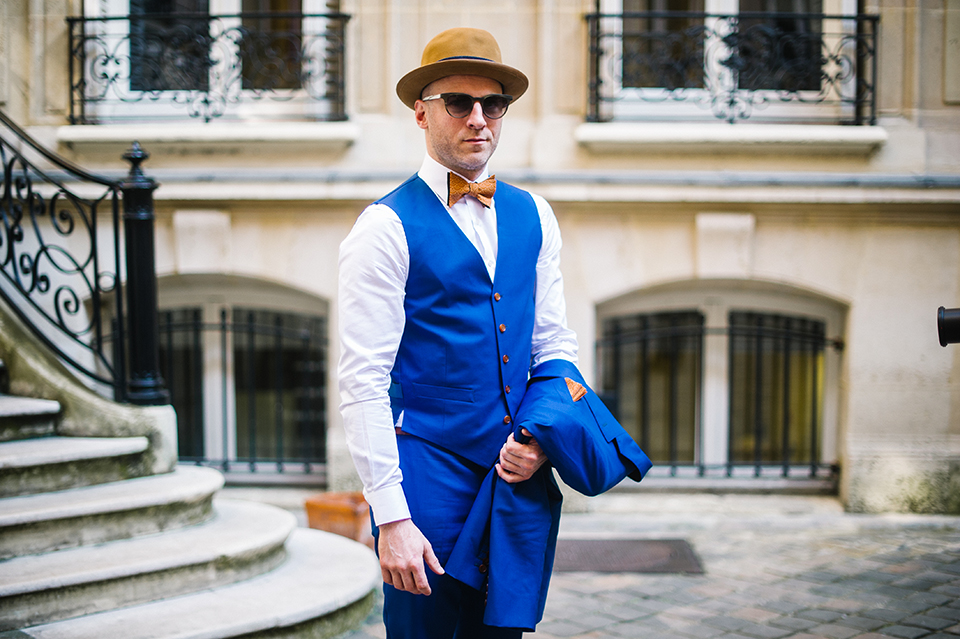 Gilet The French Tailor look