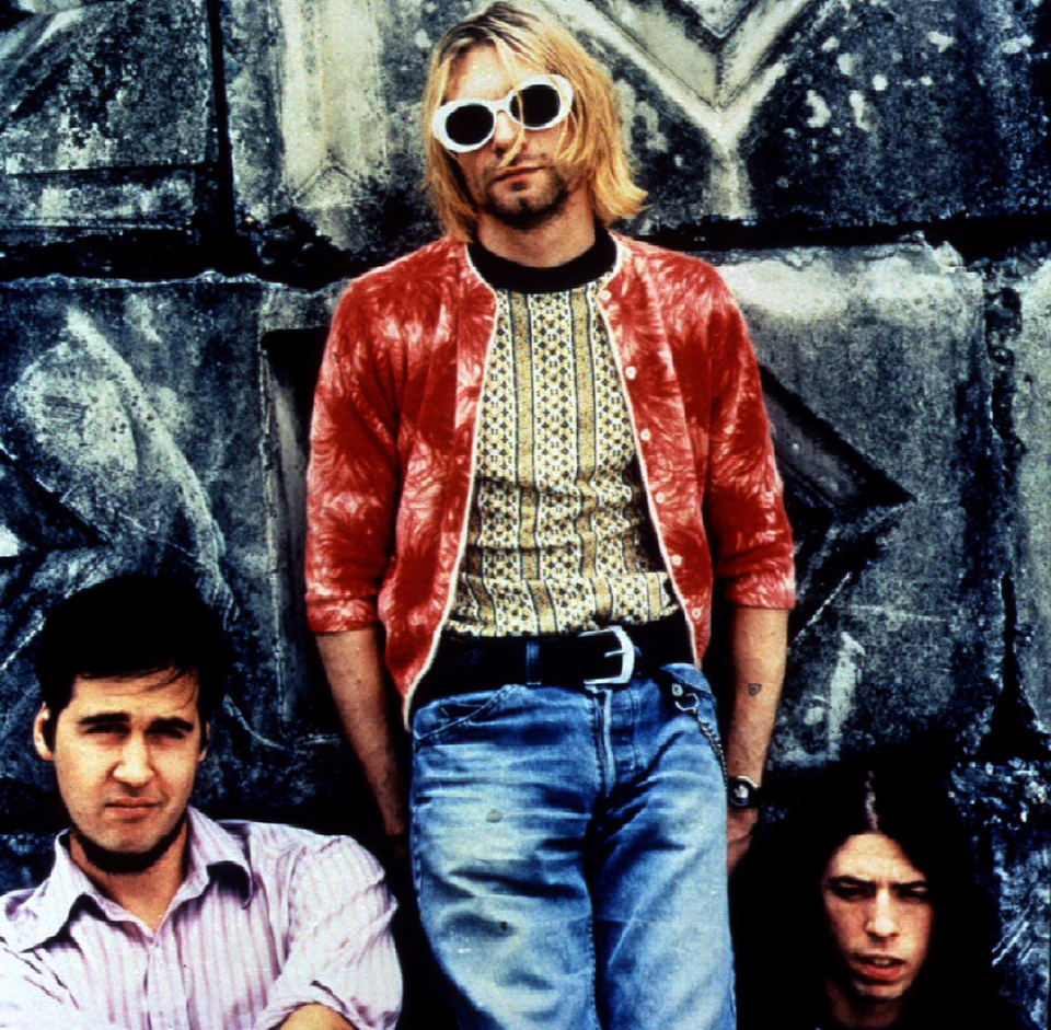 kurt cobain nirvana grunge