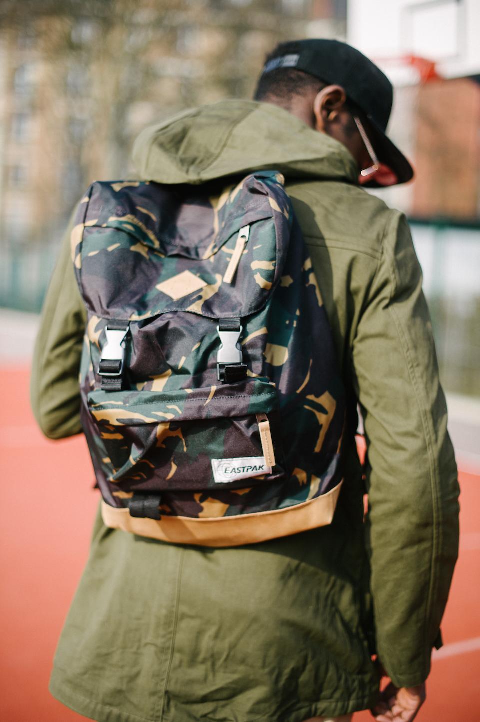 look sac eastpak camouflage