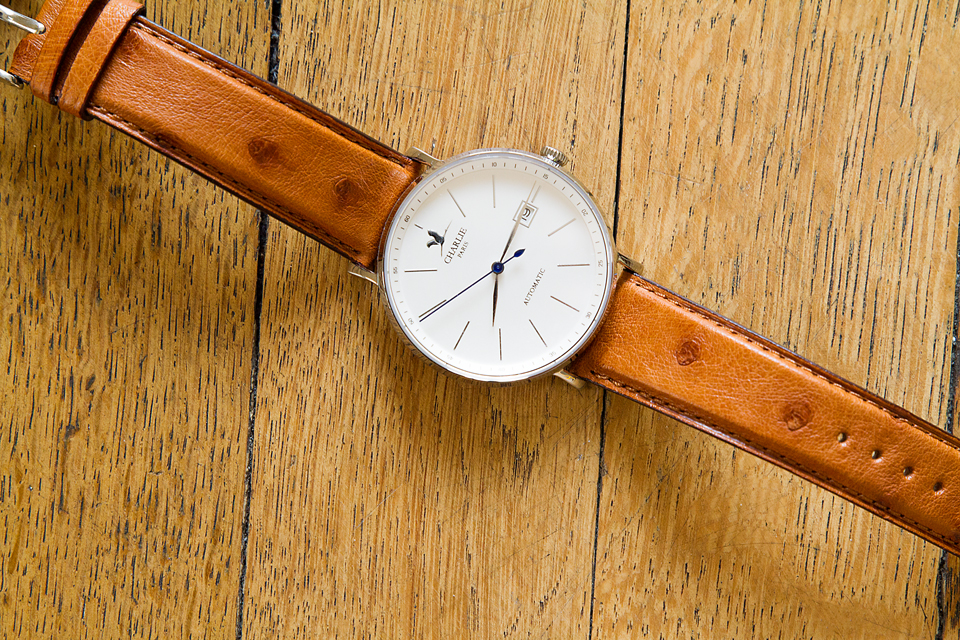 Montre charlie watch initial automatique