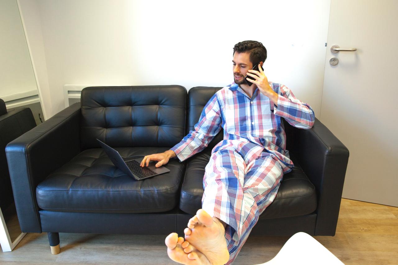 pyjama-au-bureau