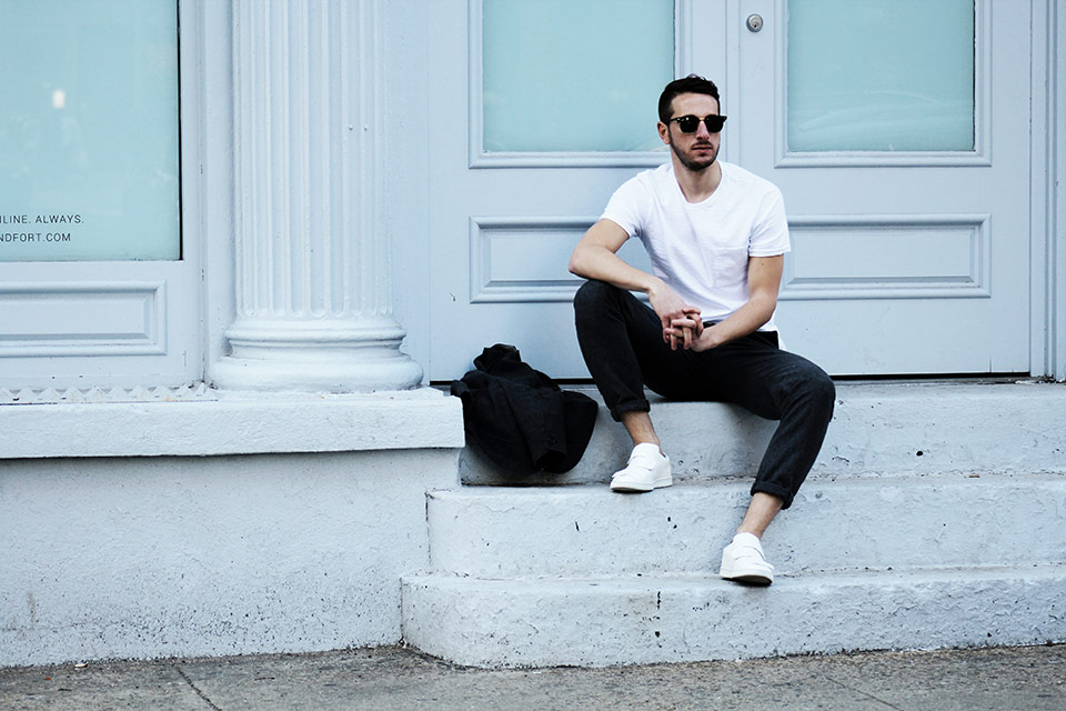 NYC SoHo White Tshirt JCrew