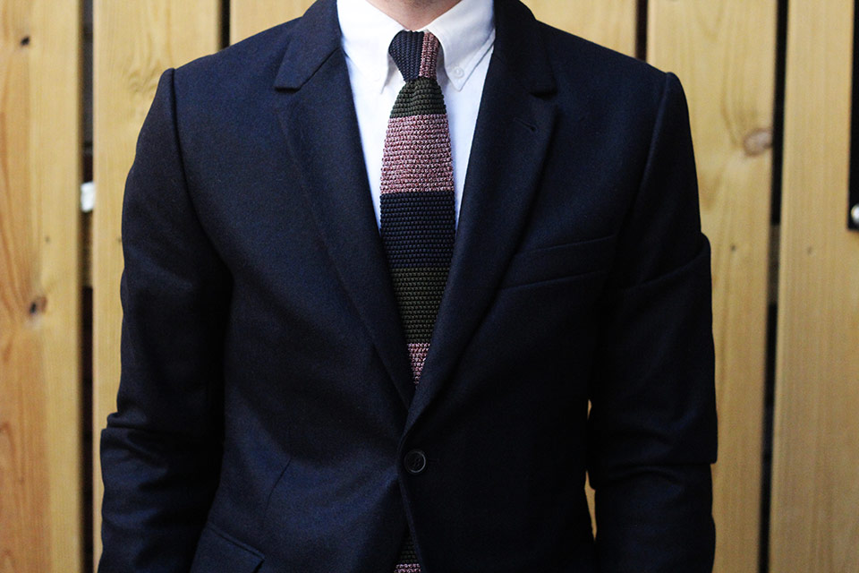 NYC Veste AMI Cravate Dunhill